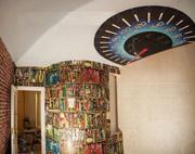роспись детской светящийся потолок