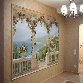 роспись стен в квартире , картины для интерьера