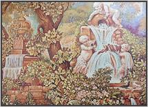 роспись-стен-в-стиле-гобелена