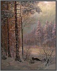 картина-зимний-пейзаж