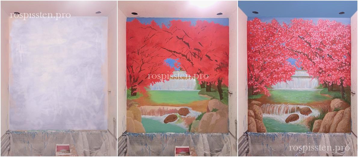 роспись-стен-ванной-комнаты-в-квартире