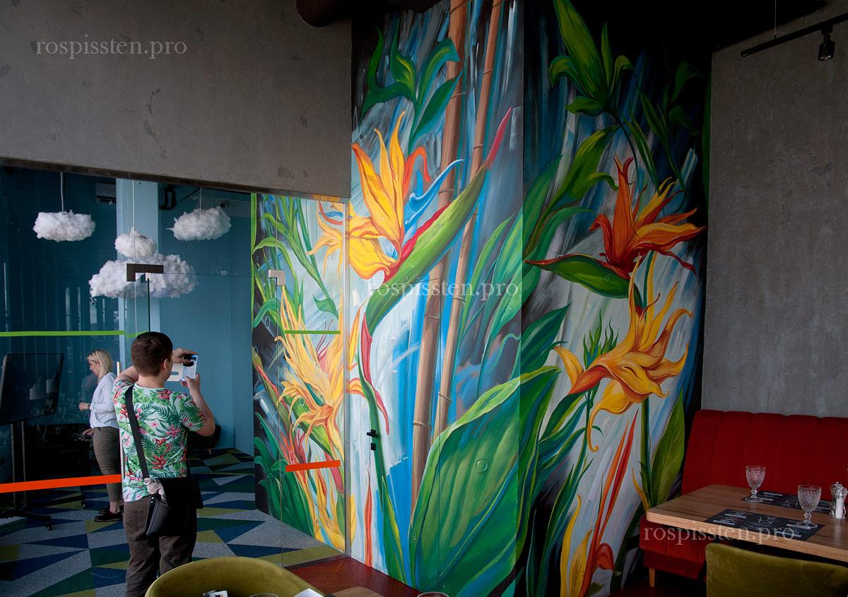 роспись-стен-детской-комнаты-в-ресторане