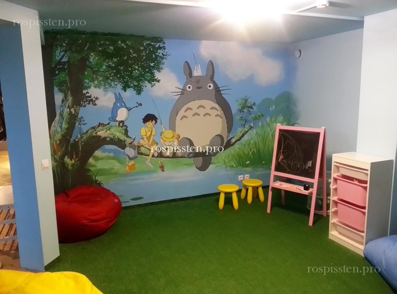 роспись-детской-комнаты -в-ресторане